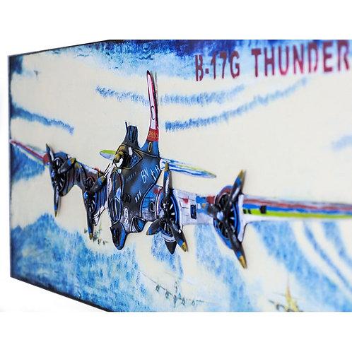 Cuadro B-17G Flying Fortress-Bombardero-Regalos Originales-D´Granada Souvenirs
