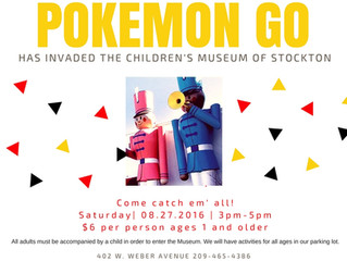 Pokemon Go at CMS August 27th 3pm-5pm