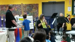Musical Art Performance provides interactive experience at CMS
