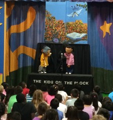 Kids on the Block Puppeteers visit CMS