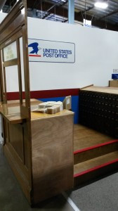Updated Post Office exhibit with new Marble Run!