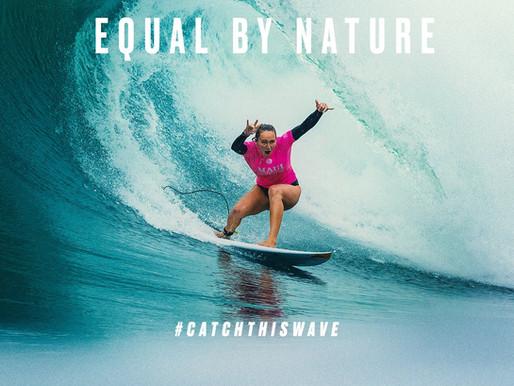 Novos passos em direção a igualdade de gênero no surf