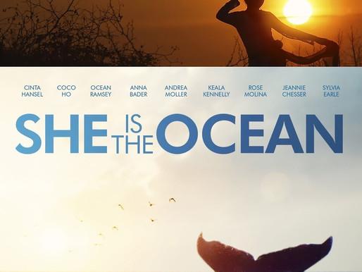 """""""She Is The Ocean"""": documentário com nove protagonistas terá exibição virtual"""