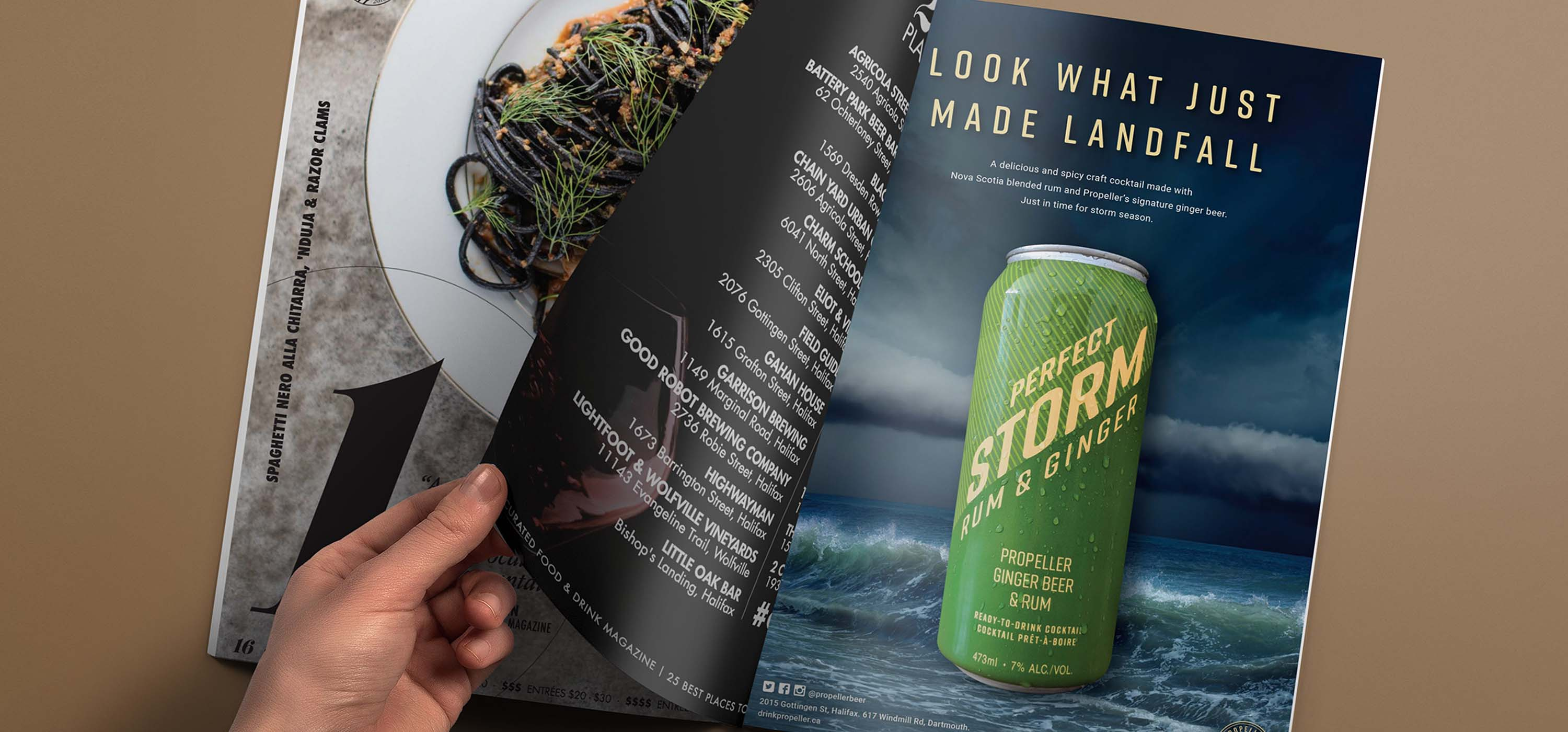 Stormy Brand Launch