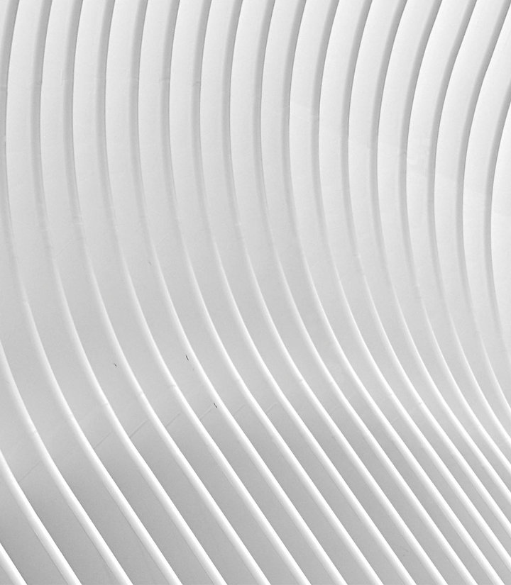 Concentric circle design used as a background for text