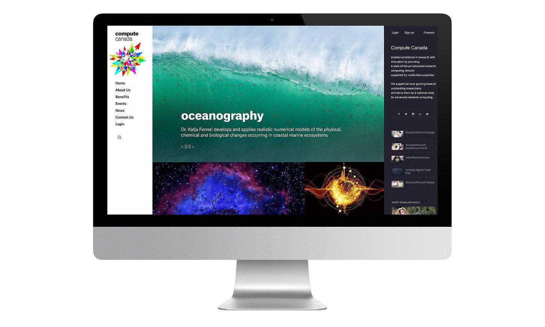 Compute Canada Website