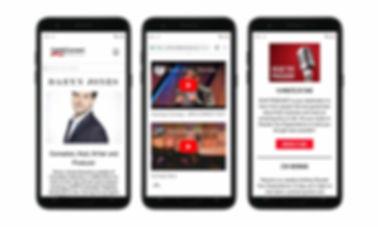 Talent Agency Website