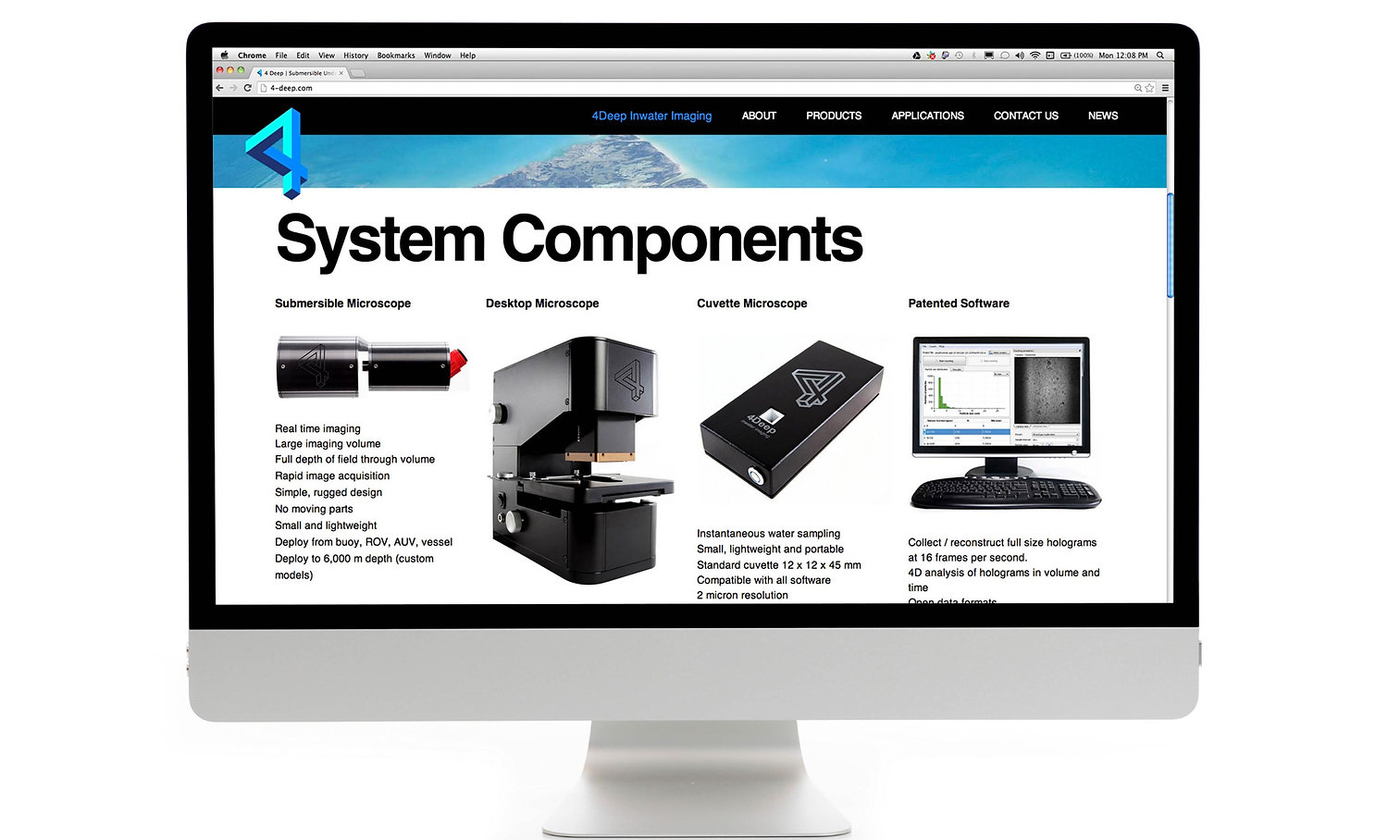 4Deep Website