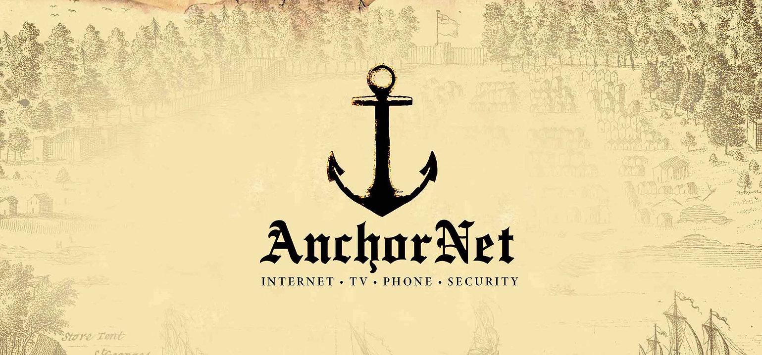 Anchornet Branding