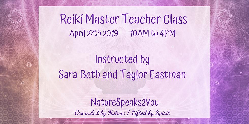 Reiki  Master Teacher Class - Usui Shiki Ryoho