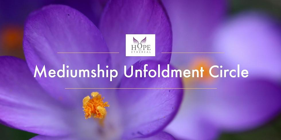 Mediumship Unfoldment Circle October 2018