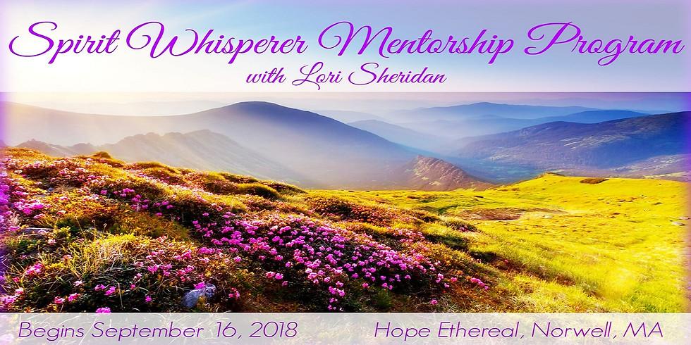 Spirit Whisperer Mediumship Mentor Program 2018-2019 (1)