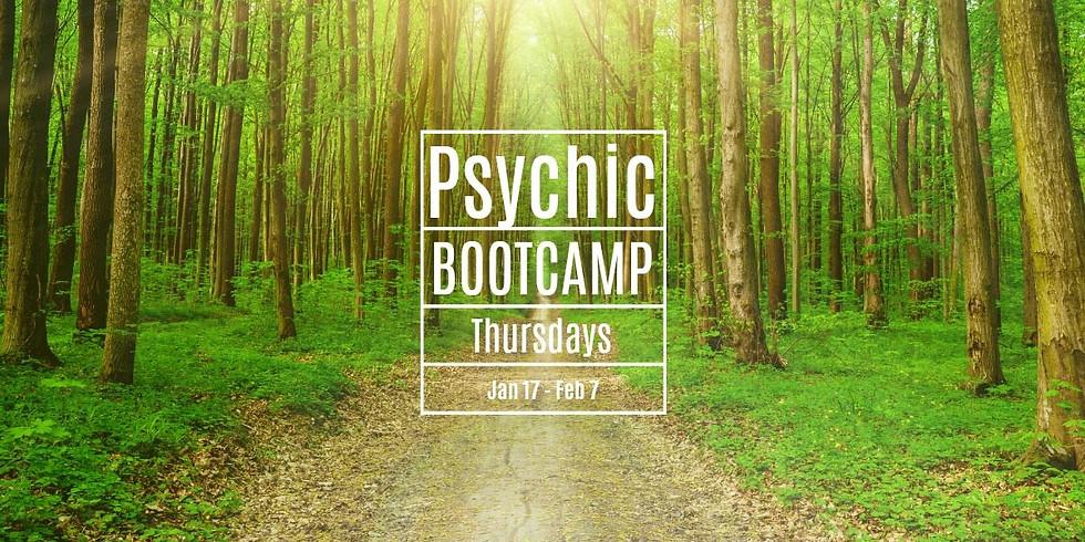 Psychic Development Bootcamp with Lori Sheridan Jan 2019