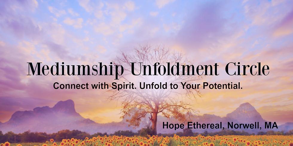 Mediumship Unfoldment Circle August 2018