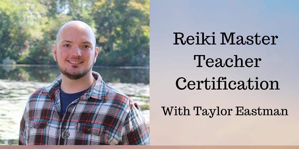 Reiki Master Teacher Certification 2/29/2020