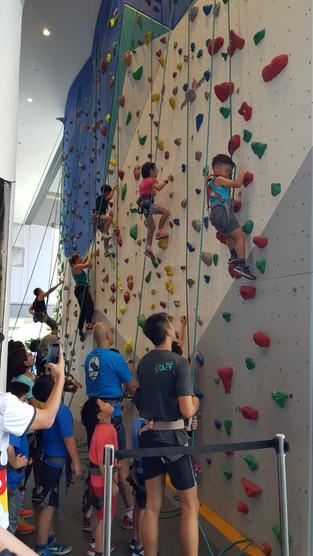 Rock Climbing @ OTH The Rock School