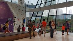 Bouldering @ Aperia Mall