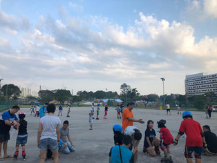 Inline Skating @ Sunplaza Mall Hardcourt