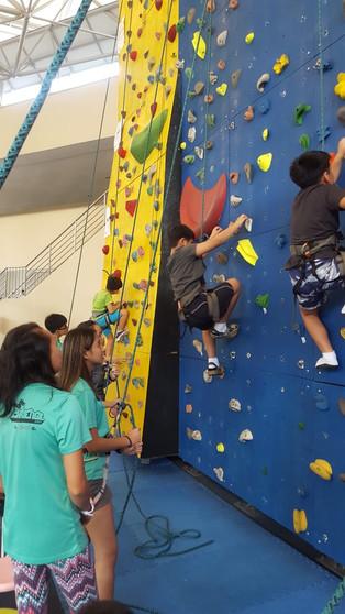 Rock Climbing @ Bedok The Rock School