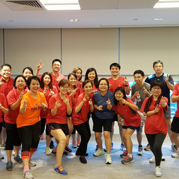 Corporate Zumba Workout Session