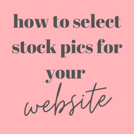 How to select amazing pictures for your website