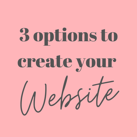 WIX Website Builder - 3 options how to create your website