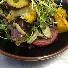 ROOT VEGETABLE AND GRAIN SALAD