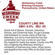 NeshCreek County Line IPA.jpg