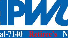 APWU Local-7140 Retiree's News May-- August, 2021