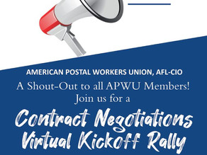 Join the APWU Contract Zoom Town Hall Meeting!