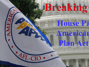 House Passes the American Rescue Plan Act of 2021