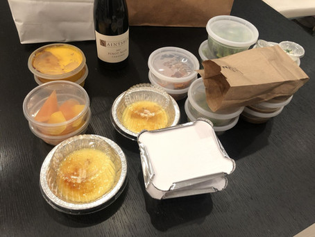 (Takeout) Tasting Menus in Turbulent Times: The State of the Art