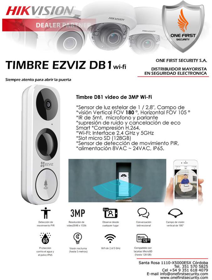 Timbre Ezviz DB1