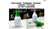 Pulverizador - Fumigador - Rociador a presión -  a bomba con aire comprimido