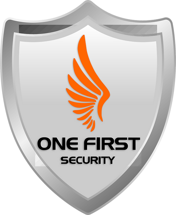 Logo One First Security Oficial 2018 (ba
