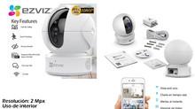 La Cámara de Seguridad Ezviz C6CN Smart tracking WiFi 2mpx
