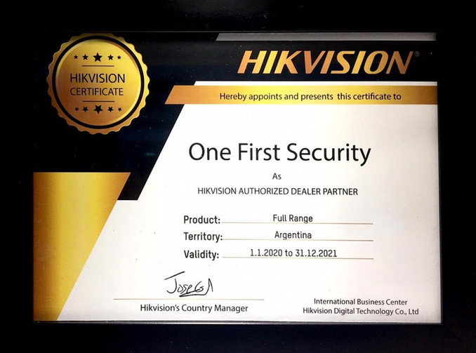 Dealer Partner Hikvision (FULL RANGE)