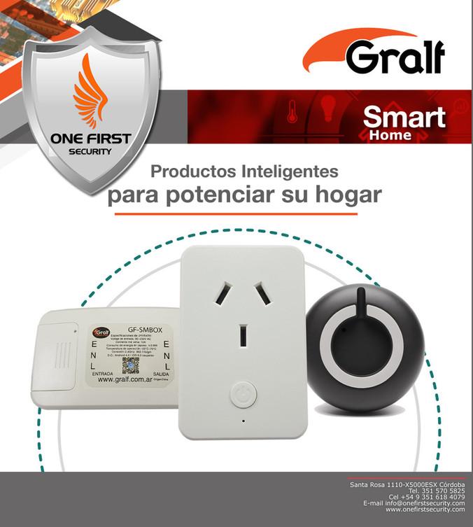Consúltenos por la nueva linea de Smart-Home que trae GRALF