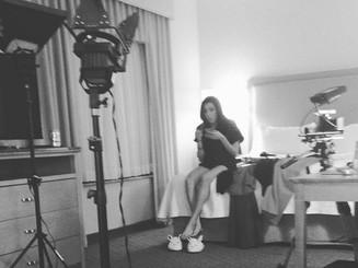 On set of _htihtb_movie ❤️❤️❤️❤️ day 1.j