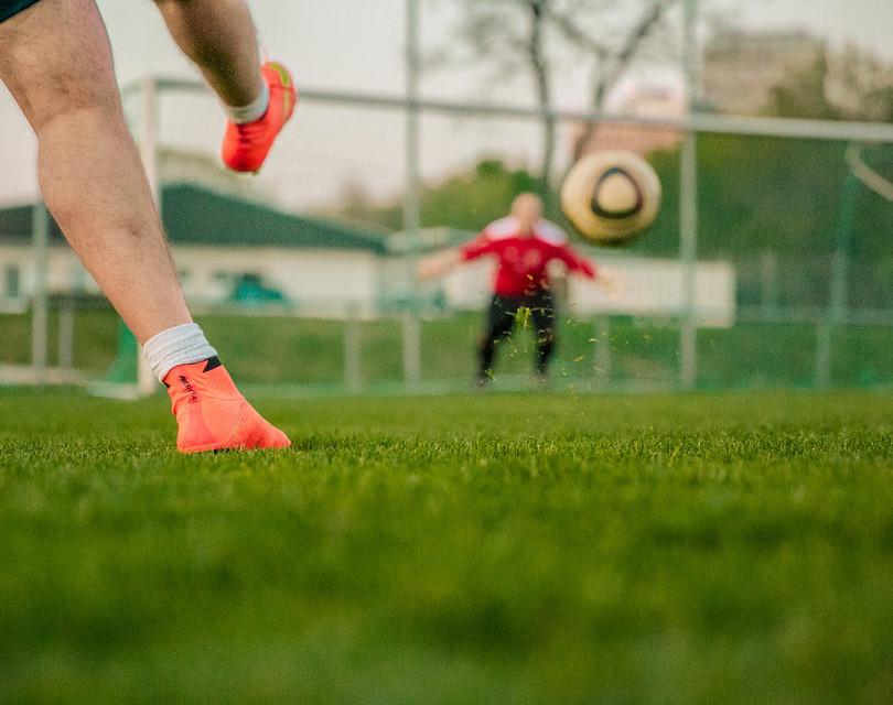 Soccer Goal Shot