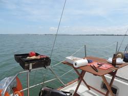 Barbecue em veleiro, Mikado 56'
