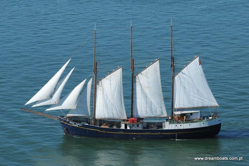 Navio Veleiro clássico