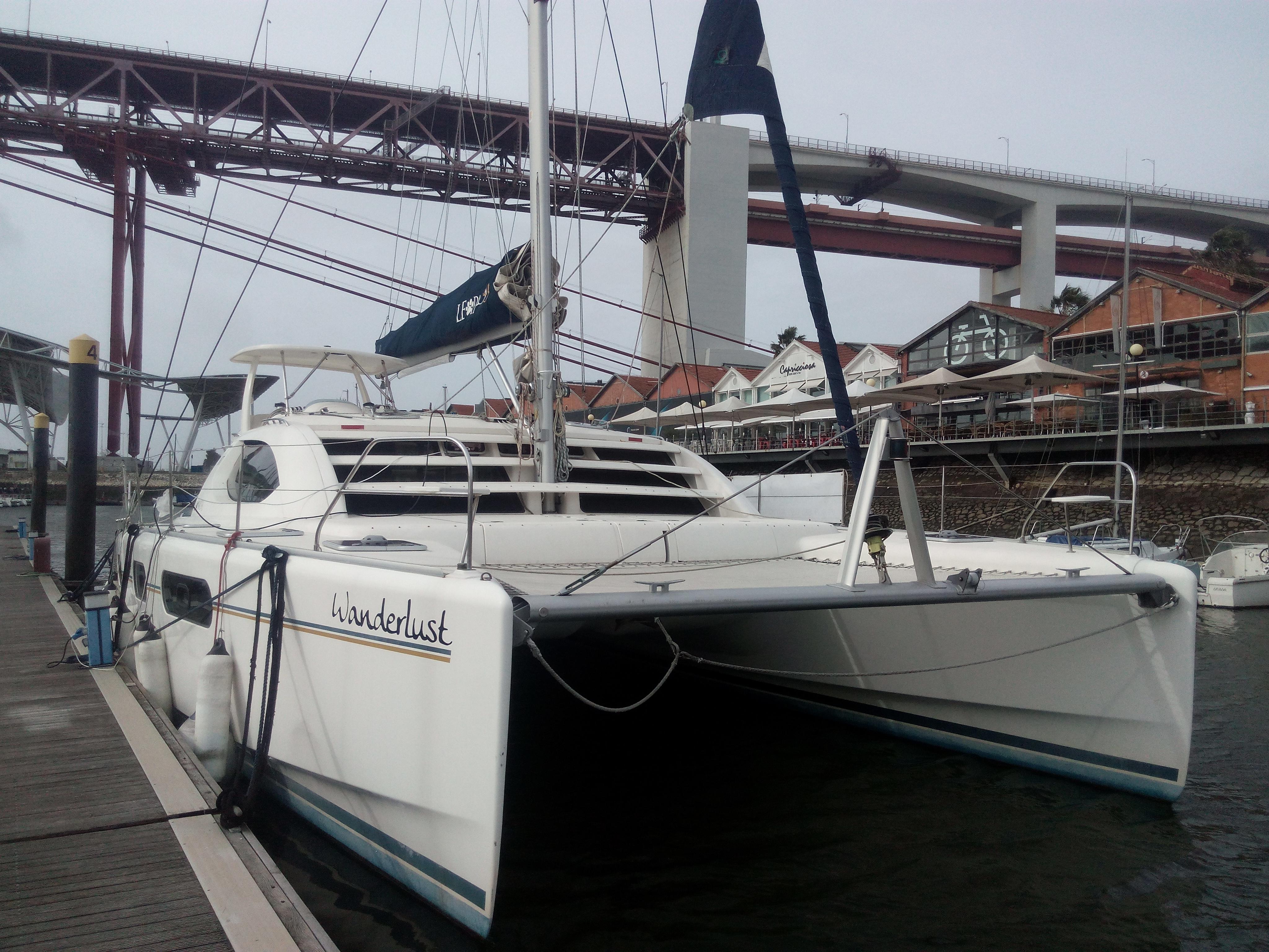 Passeio barco em Lisboa