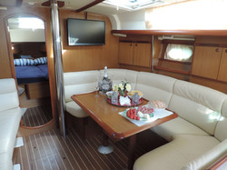 Sailing tour, Jeanneau 40'
