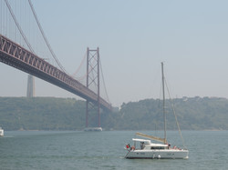 Catamaran to rent in Lisbon