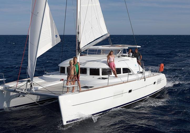 Catamaran a vela, Lagoon 38'