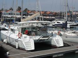 Catamaran in Lisbon