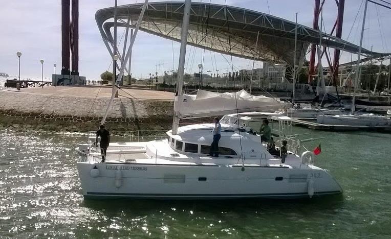 Passeio à vela,Lagoon 38'