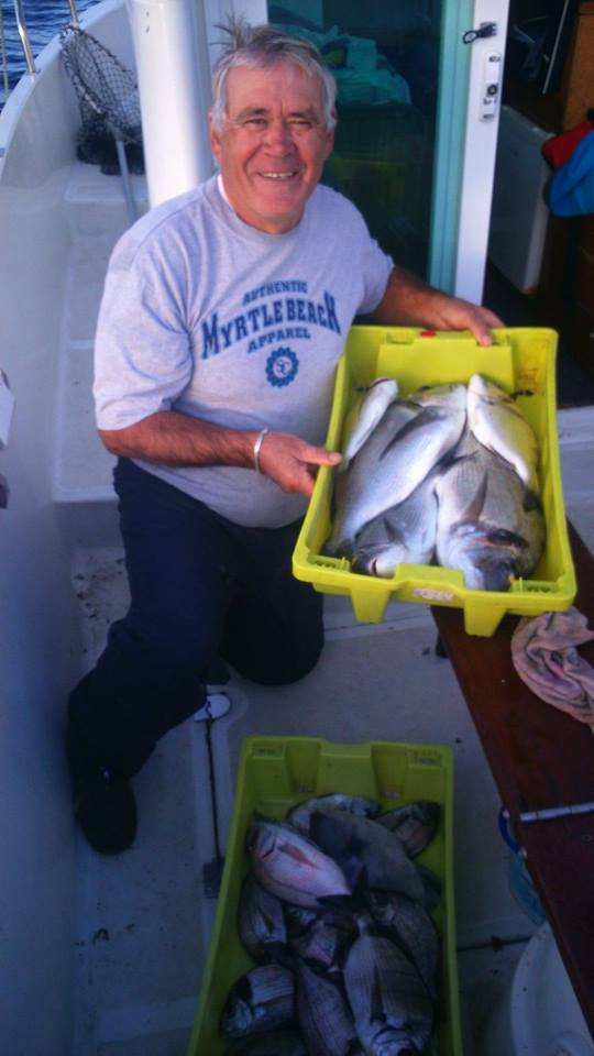 Fishing Trip, Douradas (Sea Bream)