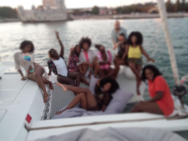 Festa com amigos no Rio